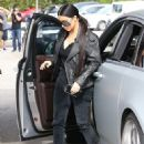 Kim Kardashian spotted out for lunch at Cafe Vega in Sherman Oaks, California on February 8, 2017 - 453 x 600