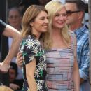 Kirsten Dunst – Pictured at her Hollywood Walk of Fame Star ceremony with Sofia Coppola - 454 x 681