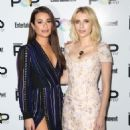 Lea Michele and Emma Roberts – Entertainment Weekly's Popfest at The Reef in Los Angeles 10/30/ 2016 - 454 x 600