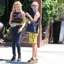 Reese Witherspoon and her daughter Ava were spotted leaving her  office in Beverly HIlls, California on August 14, 2015