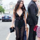 Jessica Gomes Arriving At Heidi Klum Intimates Launch In Sydney