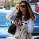 Maria Shriver spends time out and about in Brentwood, California on January 08, 2016 - 377 x 600