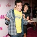 Steve-O and Lacey Schwimmer