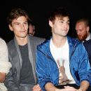 Douglas Booth attends the Coach presentation at the London Collections: Men AW15 at on January 9, 2015 in London, England