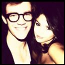 Selena Gomez and Grant Gustin