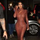 Kim Kardashian – Dinner at Milos Restaurant in New York City - 454 x 681