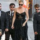 Charlize Theron at 'Jimmy Kimmel Live!' in Hollywood - 454 x 681