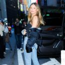 Behati Prinsloo – Victoria's Secret Fashion Show Fittings in New York