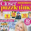 Emma Bunton - Closer Puzzle Time Magazine Cover [United Kingdom] (August 2019)