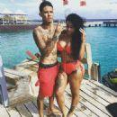 Blac Chyna and Johnny Winn at The Beach in Curacao - August 8, 2015