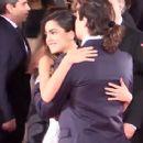 Martina Stoessel and Juan Pedro Lanzani- 'El Clan' Premiere - 72nd Venice Film Festival - 389 x 366