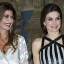 Argentina's President Host a Reception for King Felipe and Queen Letizia - 454 x 302