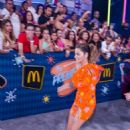 Maite Perroni- Univision's 13th Edition Of Premios Juventud Youth Awards - Arrivals - 454 x 682