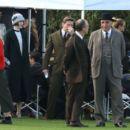 Michelle Dockery – Filming the 'Downton Abbey' in Bath - 454 x 404