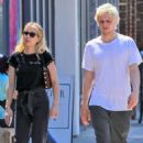 Emma Roberts and Evan Peters – Shopping in Los Angeles - 454 x 681