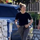 Alicia Silverstone – Spotted on dog walk in LA