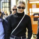 Gigi Hadid – Leaves the Max Mara Fashion Show in Milan - 454 x 681