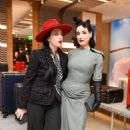 Dita Von Teese – Rimowa x Alexandre Arnault Pop-Up Event in LA