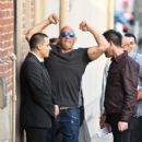 Vin Diesel is seen at 'Kimmel' on January 17, 2017 - 400 x 600