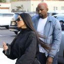 Kim Kardashian and Kanye West – Out in Los Angeles - 454 x 681