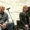 Duff McKagan makes an appearance at the Fender booth during the 2019 NAMM Show at the Anaheim Convention Center on January 26, 2019 in Anaheim, California