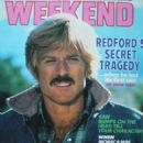 Robert Redford - USA Weekend Magazine Cover [United States] (9 April 1980)