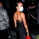 Karrueche Tran – Seen at Meagan Good at EJ King's birthday party in Hollywood - 454 x 681
