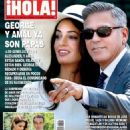 George Clooney and Amal Alamuddin - 454 x 625