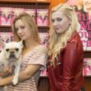 "Abigail Breslin during a signing for her new book ""This May Sound Crazy"" on October 4, 2015 in Metairie, Louisiana"