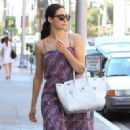 Emmy Rossum is seen on a jaunt in Beverly Hills on July 30, 2015 - 454 x 327