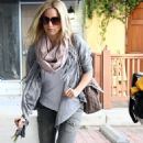 Ashley Tisdale: Arriving At Nail Salon