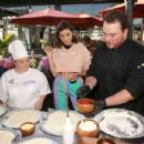 Olivia Culpo – Hosts A Pizza Party in Support of Best Buddies International in Los Angeles