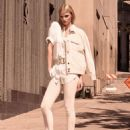 Lara Stone Hm The New Neutrals Collection 2015
