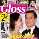 Angelina Jolie, Brad Pitt - Gloss Magazine Cover [Netherlands] (3 December 2015)