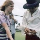 Linda McCartney and Jimi Hendrix