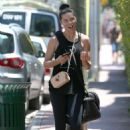 Adriana Lima – Leaves the boxing gym in Miami