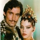 Timothy Dalton and Ornella Muti in Flash Gordon