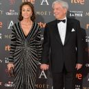 Isabel Preysler and Mario Vargas Llosa- Goya Cinema Awards 2016 - 384 x 600