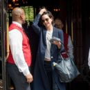 Katherine Waterston Leaves of her hotel in New York City - 454 x 684
