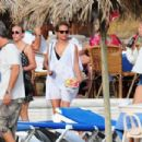 Alicia Vikander and Michael Fassbender at a Yacht in Ibiza 07/07/2017