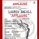 Applause (musical) Original 1970 Broadway Musical Starring Lauren Bacall - 454 x 665