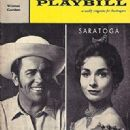 Saratoga  Original 1959 Broadway Musical Starring Howard Keel - 321 x 445