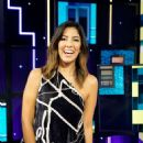 Stephanie Beatriz – on 'A Little Late with Lilly Singh' show in Hollywood - 454 x 681