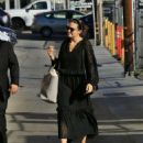 Mandy Moore – Arrives at Jimmy Kimmel Live in Los Angeles