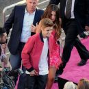 Justin Bieber and Selena Gomez at the premiere of Katy Perry: Part Of Me at Grauman's Chinese Theatre in Hollywood, California (June 26)
