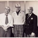 Edward Asner,Chuck Bergeson & Ted Knight