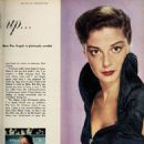 Pier Angeli - Photoplay Magazine Pictorial [United States] (August 1954)
