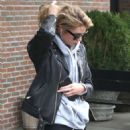 Stella Maxwell in Ripped Jeans out in New York