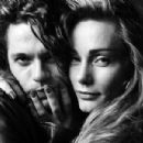 Michael Hutchence and Virginia Hey