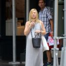 Claire Danes in Long Dress out in New York - 454 x 596
